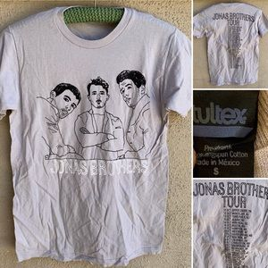 Jonas Brothers Tour T-Shirt US & Canada Cities S